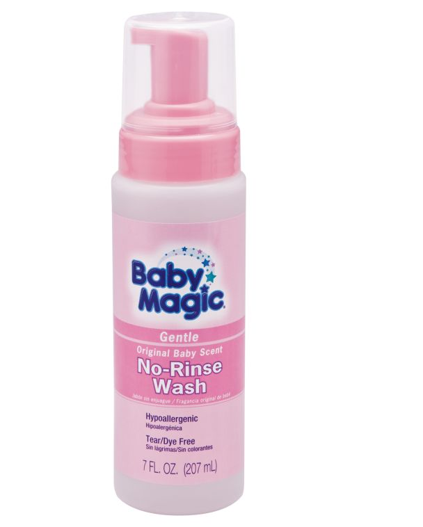 This washes baby with no water or rinse or anything. Uh-MAY-zing. Not just for babies - but learn all the ways it will save your life as a toddler mom too!