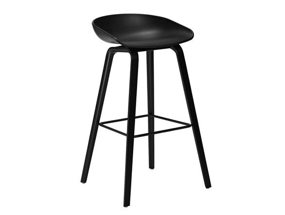 About a Stool - Wooden base, by #Hay