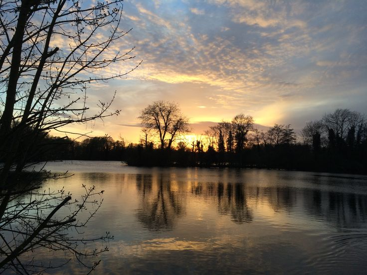 Another lovely sunset over Batchworth Lake - April 2015