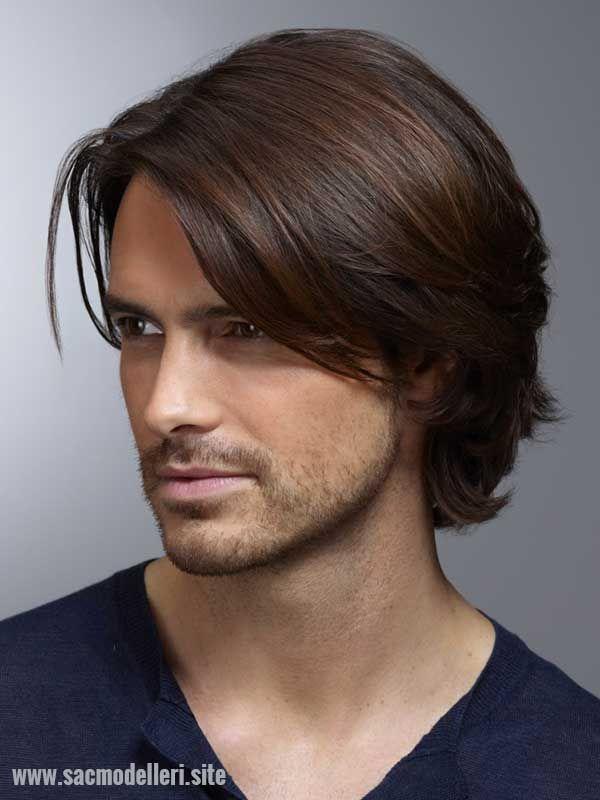 Uzun Erkek Sac Modeli Erkek Sac Kesimleri Kalin Saclar Orta
