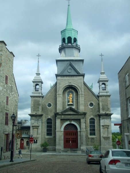 church in Old Montreal