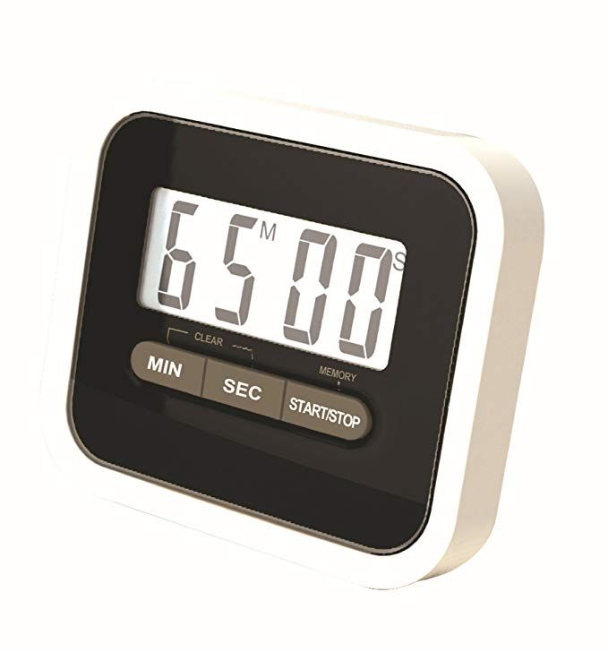 Idoker Digital Kitchen Timer With Magnetic Backing For Cooking