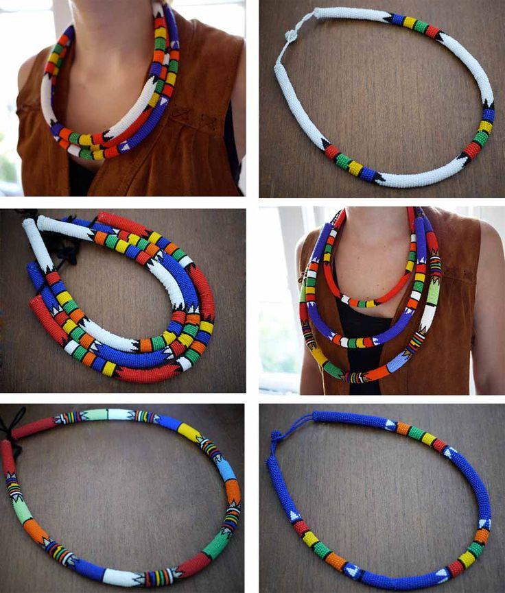 zulu necklace - Buscar con Google