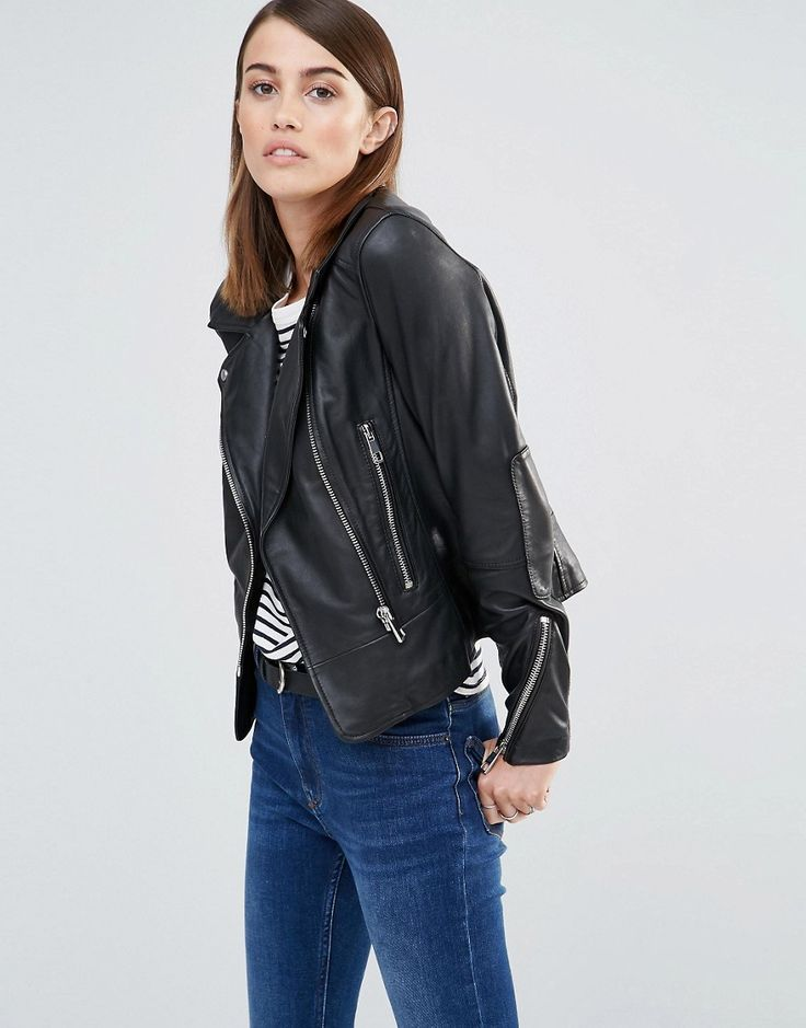 Whistles+Carmen+Leather+Jacket+with+Stretch+Inserts