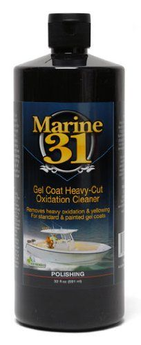 Marine 31 Gel Coat HeavyCut Oxidation Cleaner 32 oz *** Find out more about the great product at the affiliate link Amazon.com on image.