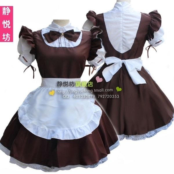 >> Click to Buy << Cosplay Uniform Temptation Women's Dress Cat Ears Waitress Apron Dress French Maid Meidofuku Costume #Affiliate