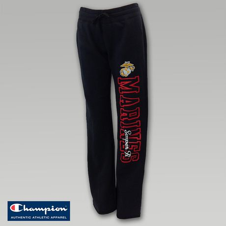 Marines Women`s Angel Fleece Sweatpants | ArmedForcesGear.com | Armed Forces Gear