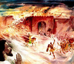 Vreemde gebeure met die verwoesting van die Tweede Tempel
