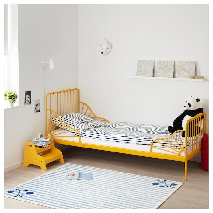 Furniture And Home Furnishings Ikea Toddler Bed Yellow