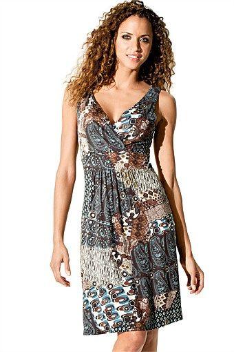 Dresses   Buy Women's Dresses Online - Heine Printed Dress
