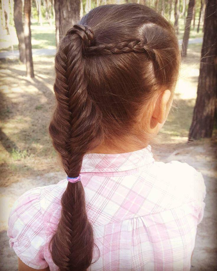 Коса колосок или рыбий хвост // Fishtail braid https://www.youtube.com/watch?v=FYWxyqrP-60