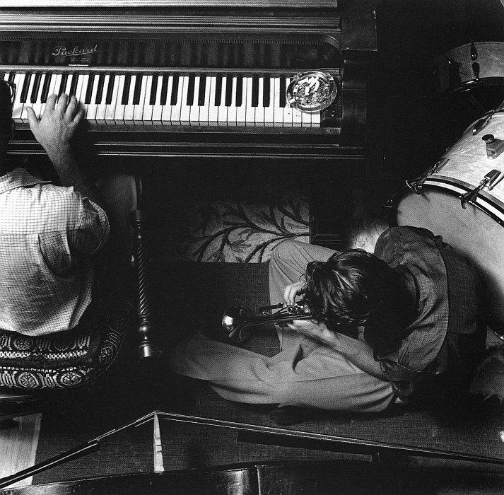 Chet Baker and Teddy Charles. 1958