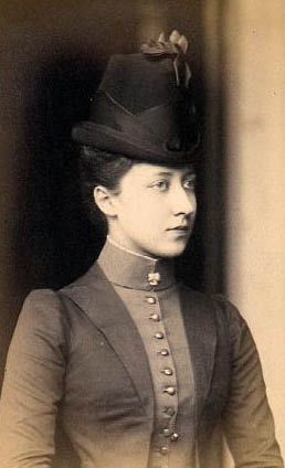 Louise Princess Royal, eldest daughter of Victoria's eldest son Edward VII.