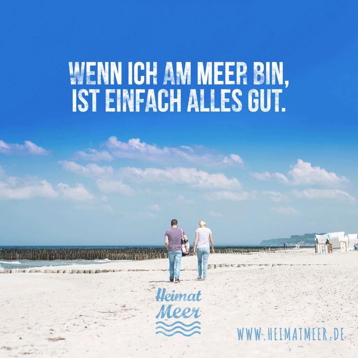 Wenn ich am Meer bin, ist einfach alles gut. >>