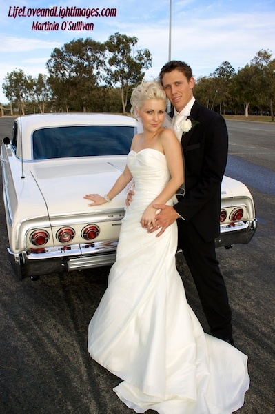 Signature Creations Car Hire  Travel in style on your wedding day, Signature Creations can chauffeur drive you in their 1964 SS white Chevy Impala right to the door.    http://theweddingsavvybride.com.au