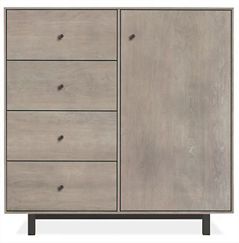 Hudson Small Cabinets with Steel Base - Cabinets - Entryway - Room & Board