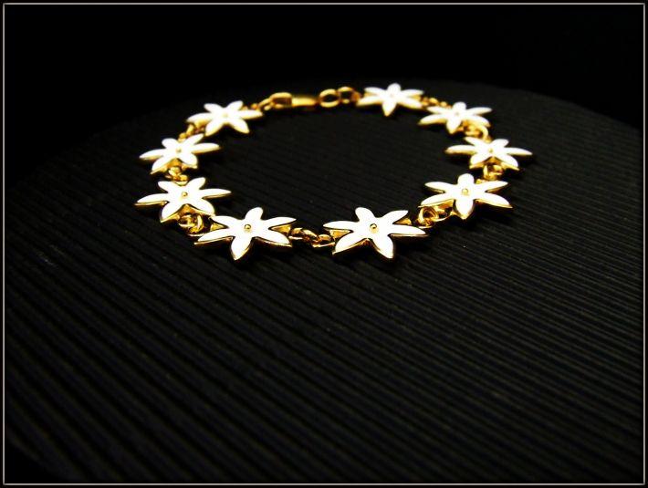 bracelet hot enamel, silver bracelet, gold 999 GALANI Jewelry
