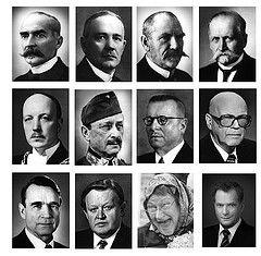 Kaikki Suomen presidentit.