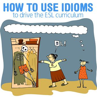 """Is He """"Mad About"""" or """"Mad At"""" Me? How to Use Idioms to Drive the ESL Curriculum"""