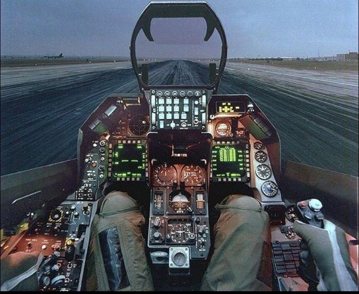 Cockpit huh? Women fly 2 ya know--just sayin'