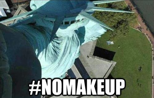 Statue of Liberty selfie.