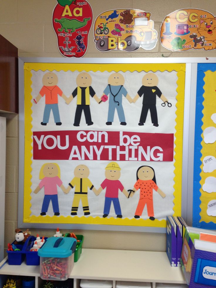 Community helpers bulletin board life stuff pinterest for Community mural ideas