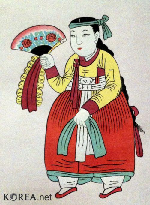 Korean mudang.