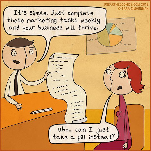 #Marketing pill #MarketingHumor