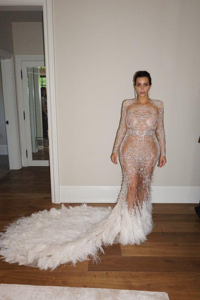 Kim Kardashian Met Gala fitting 2015. No makeup.