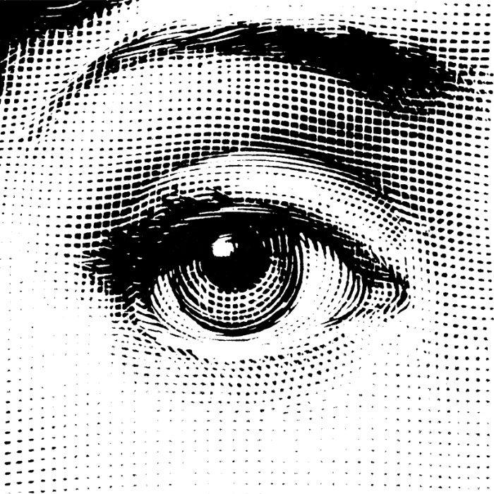 Fornasetti Left Eye Art Print