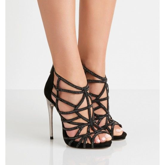 Faye Caged Heels