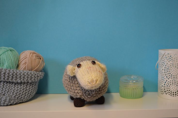 Larry Lamb Toy knitting project by Lilian G