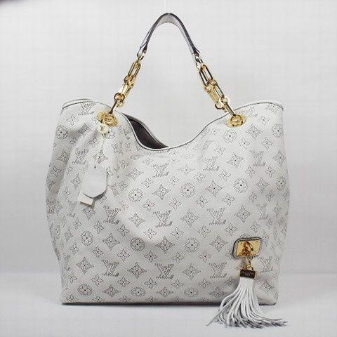 Cream Louis Vuitton Bag