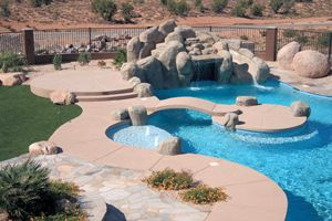 94 best images about outside pools on pinterest for Pool design by laly llc