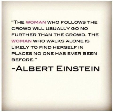 Quote of the Day: Albert Einstein on Leadership & Independence