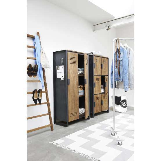 d-Bodhi locker Fendy, 2 lange deuren