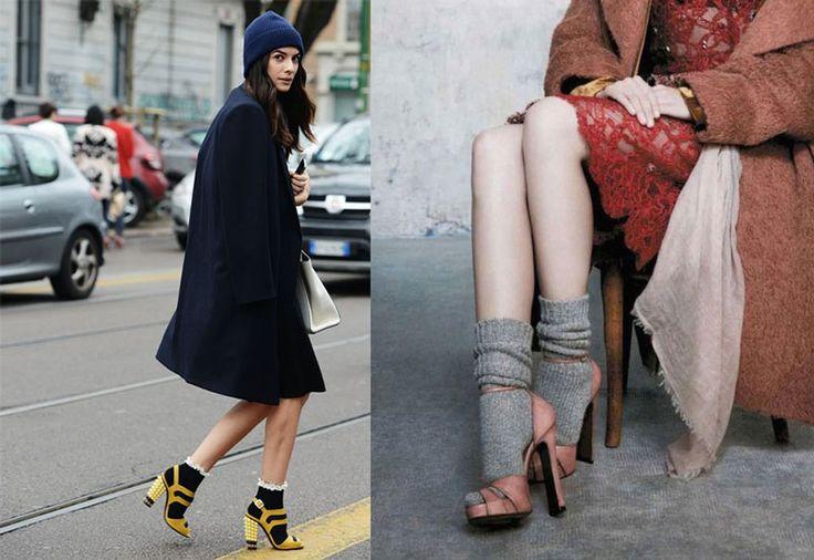 Calzini e tacchi, calze e decollete, stivali e calzettoni: ecco la guida definitiva all'uso con tante foto di look ispirazione su come indossarli