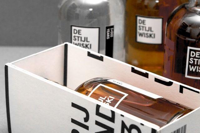 荷兰威士忌品牌De Stijl Wiski包装设计 | 灵感日报