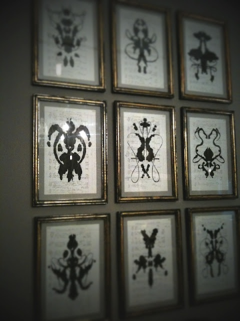 ink blotsTattoo Ideas, Wall Art, Frames Ink, Psychology Offices Decor, Offices Spaces, Psychologist Offices Decor, Ink Blot, Convers Starters, Offices Wall