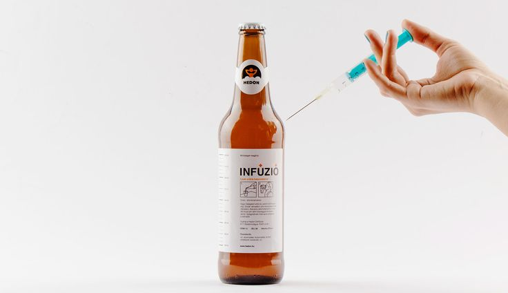 Hedon Craft Brewery Identity - Art Direction on Behance Infusion named craft beer's identity by Flying Objects