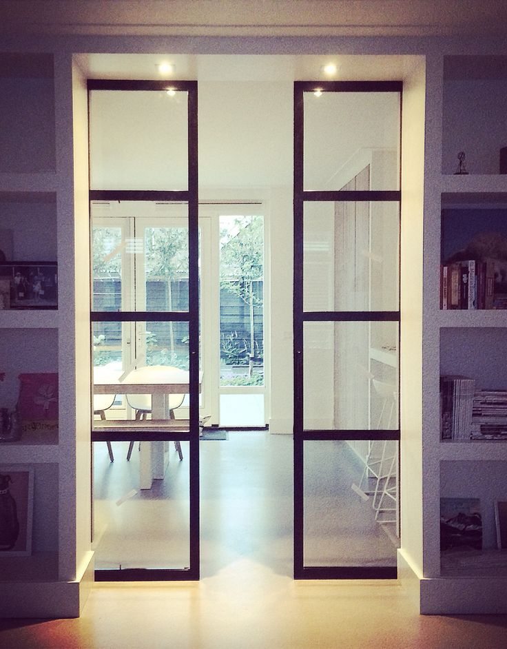 Steel Sliding Doors Combined With Ensuite