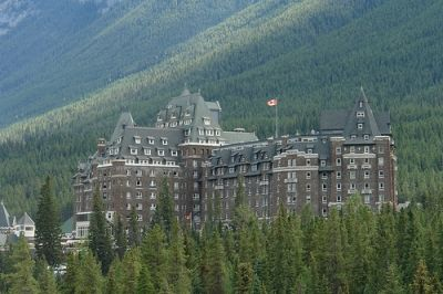 Banff Springs Hotel is located in Banff National Park in Alberta, Canada. It was originally built by the Canadian Pacific Railway back in 1888 and has been rebuilt and added to many times since then. Today the Banff Springs Hotel is owned and operated by Fairmont Hotels and Resorts and is one of the premier resort hotels in the world along with so many other of the Fairmont's properties.