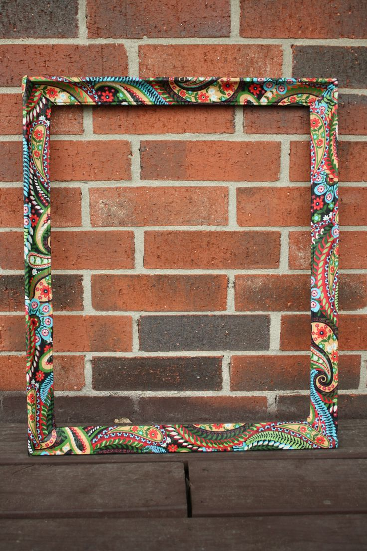 40 best images about picture frames memo boards on for Diy fabric picture frame