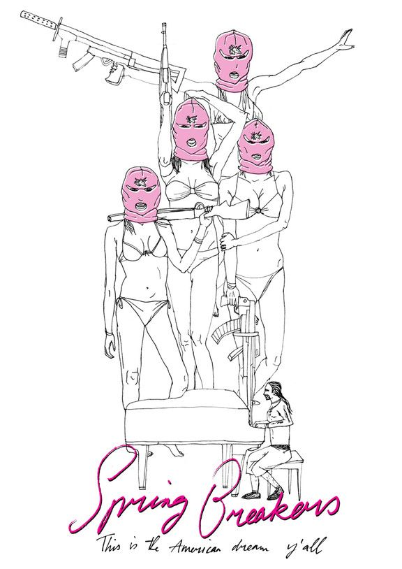 Mary's Movieposters: Spring Breakers