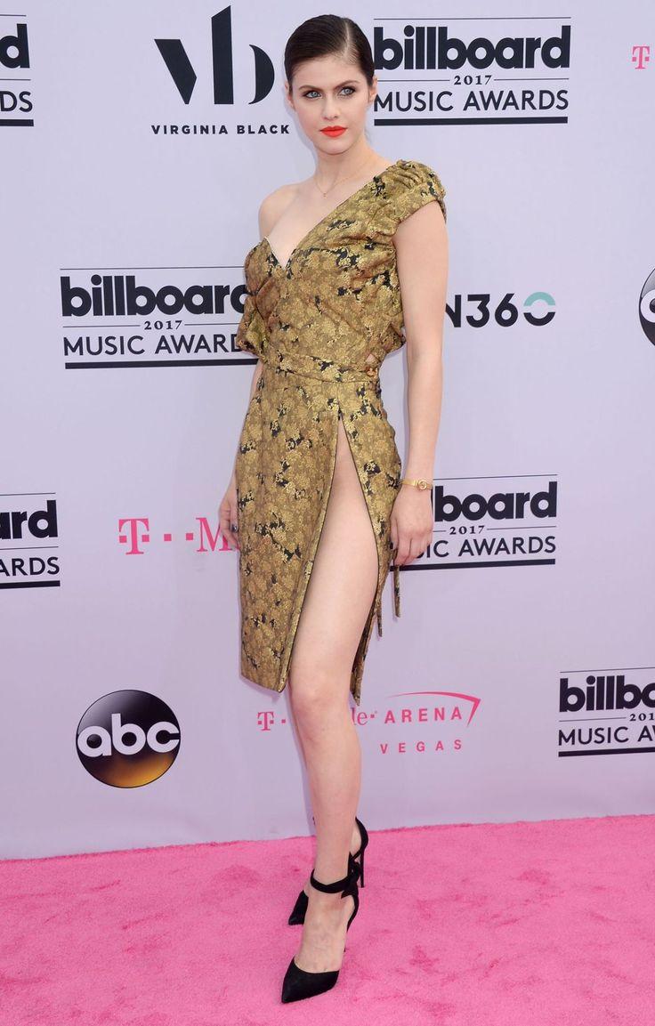 Alexandra Daddario at the Billboard Music Awards, Las Vegas (21 May, 2017)