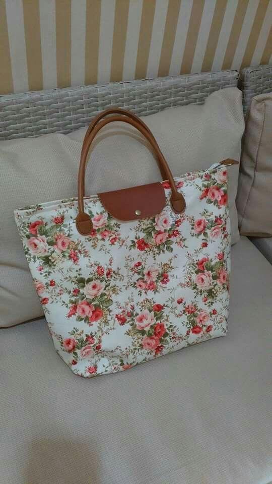 Laminated flower bag
