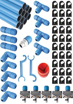 Engineered Specialties supplies the best compressed air piping and tubing materials available. Great for home, professional, and industrial applications.