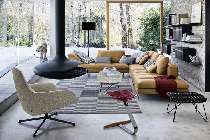 Have a look at the new Bruce sofa, designed by L+R Palomba for Zanotta!