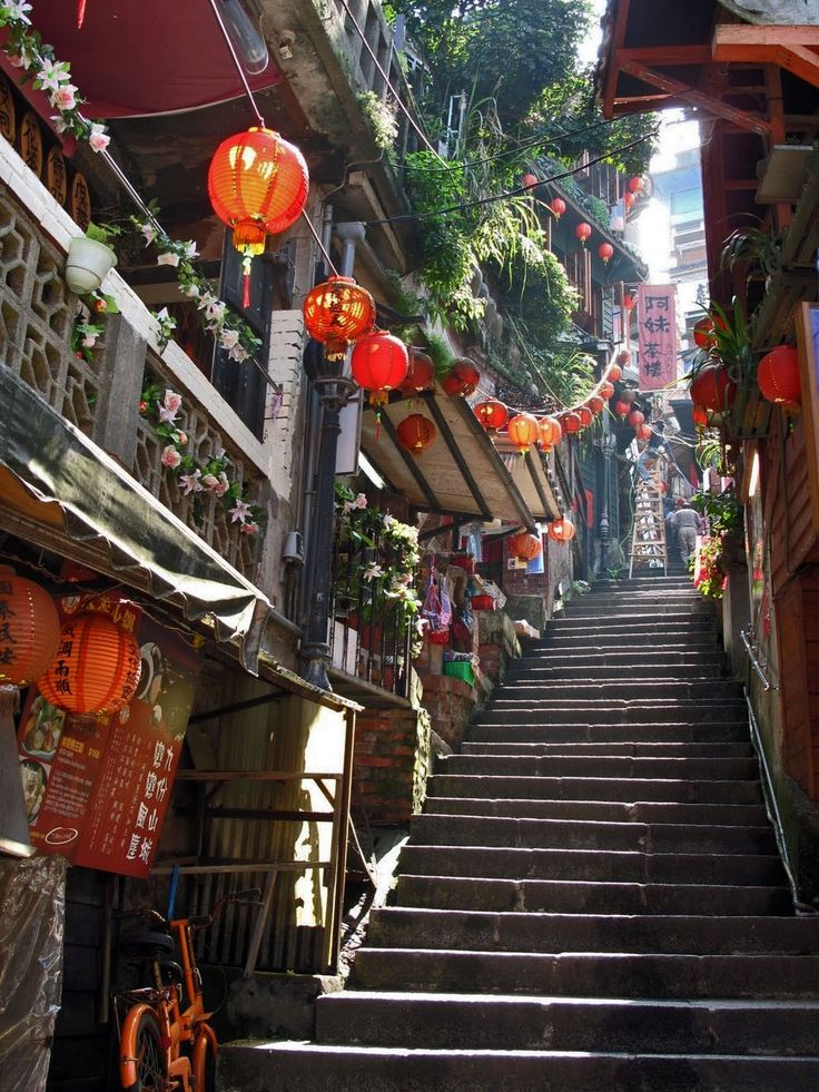 Jiufen, Taiwan, from 25 Beautifully Cluttered Cityscapes In Asia