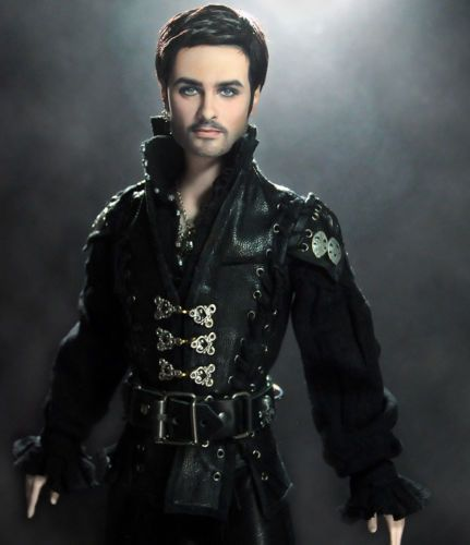 Captain Hook Once Upon A Time: OOAK Once Upon A Time Captain Hook Killian Jones Doll